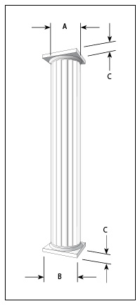 Round Fluted Example